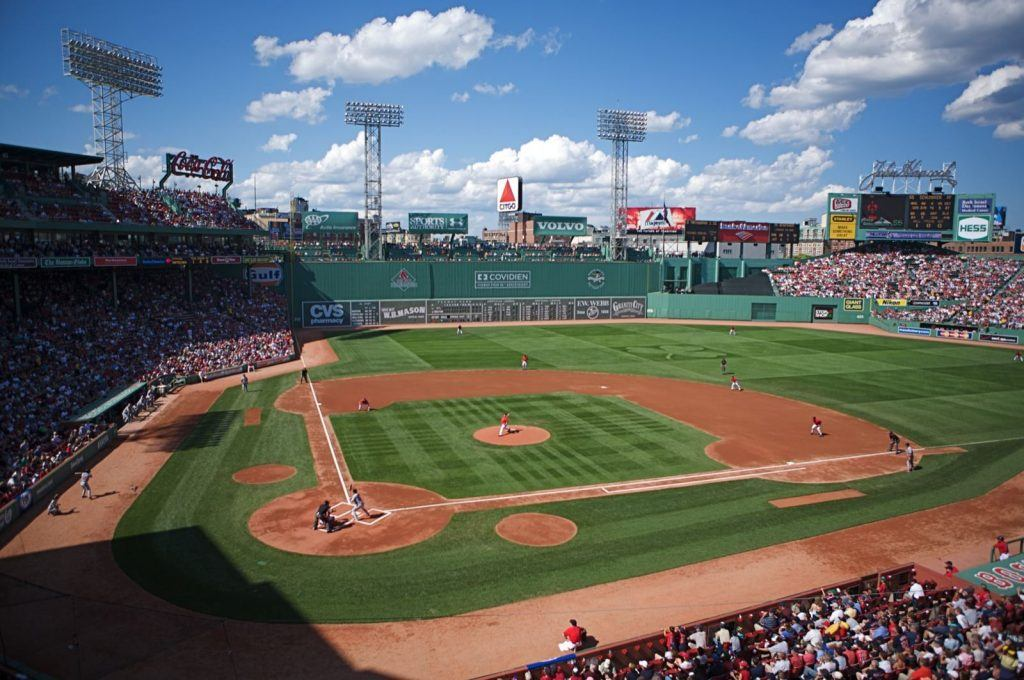 """""""Fenway from Legend's Box"""" by User Jared Vincent on Flickr - Originally posted to Flickr as """"Fenway-from Legend's Box"""". Licensed under CC BY 2.0 via Commons - https://commons.wikimedia.org/wiki/File:Fenway_from_Legend%27s_Box.jpg#/media/File:Fenway_from_Legend%27s_Box.jpg"""