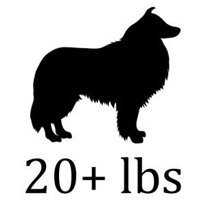 For Dogs 20+ lbs.