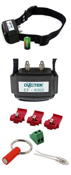 Dogtek Fence Collar Features