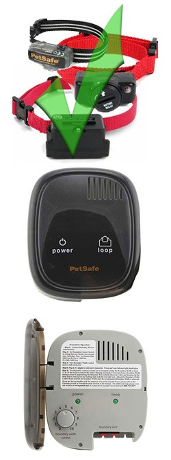PetSafe Little Dog Fence Transmitter Features