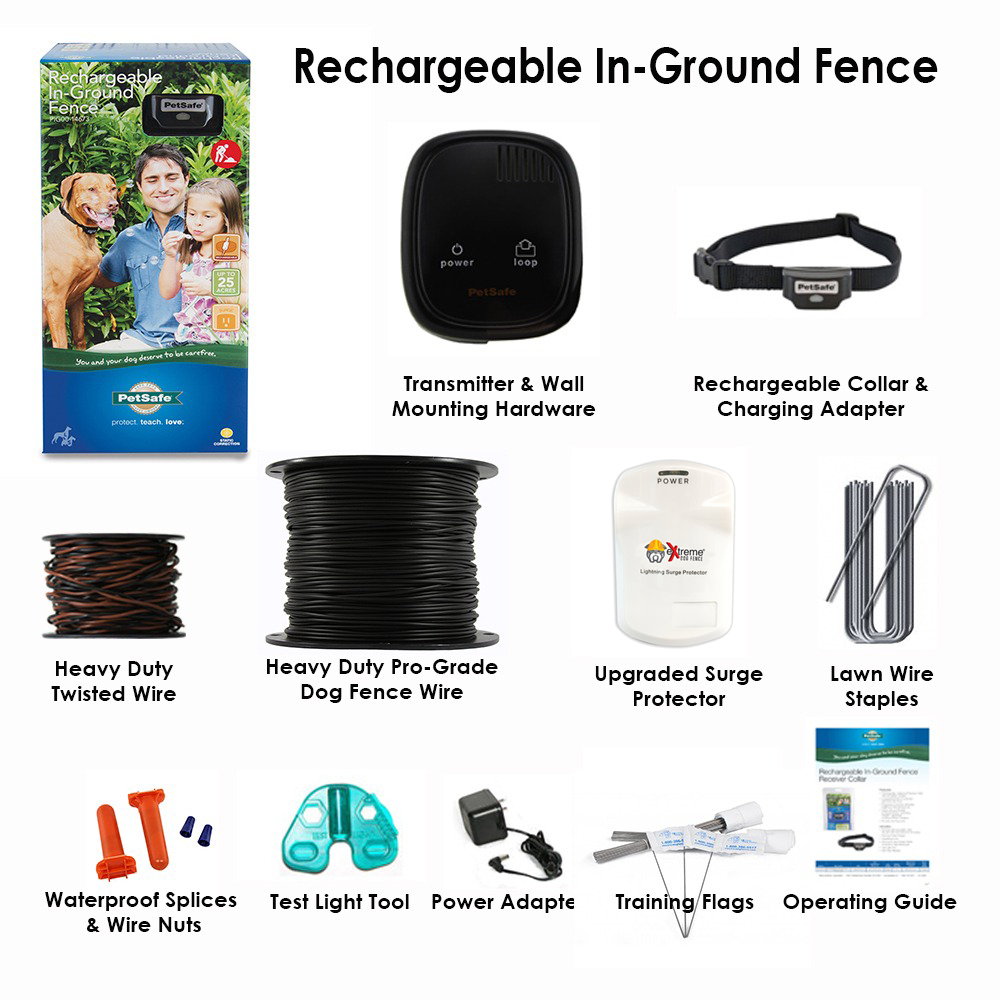 PetSafe   Rechargeable In-Ground Dog Fence - Pro-Grade Upgrades!