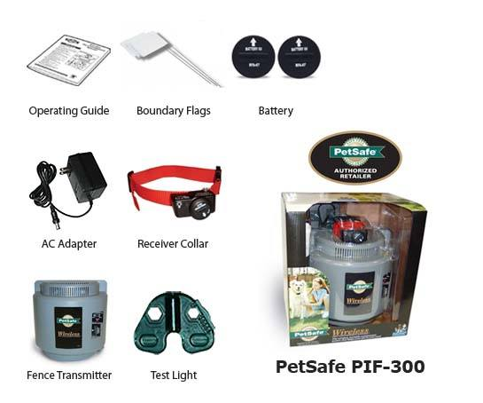petsafe wireless dog fence system pif-300
