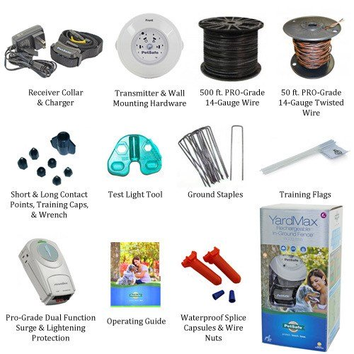 PetSafe YardMax Pro-Grade Kit Includes