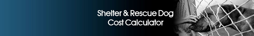Shelter & Rescue Dog Cost Calculator