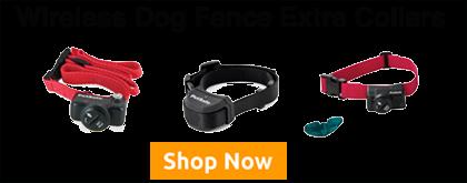 wireless dog fence extra collars